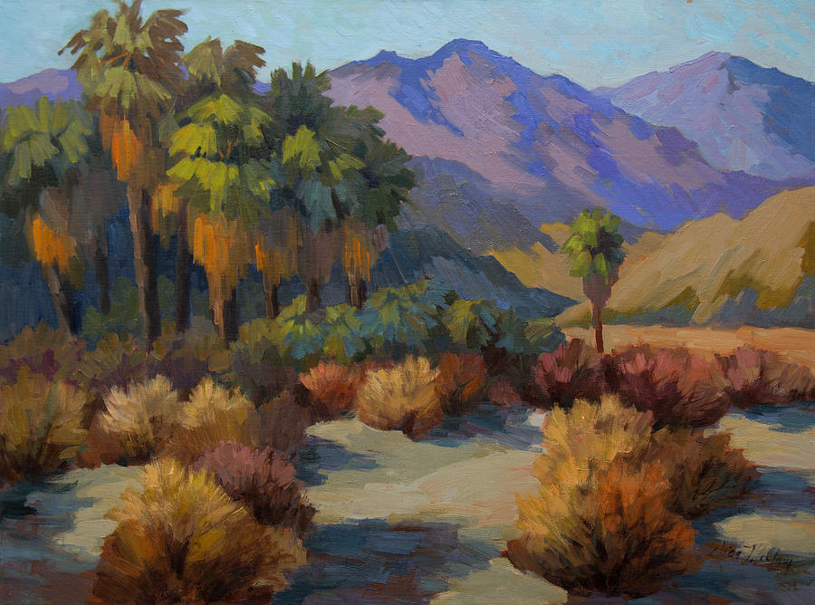 Thousand Palms Painting - Thousand Palms by Diane McClary