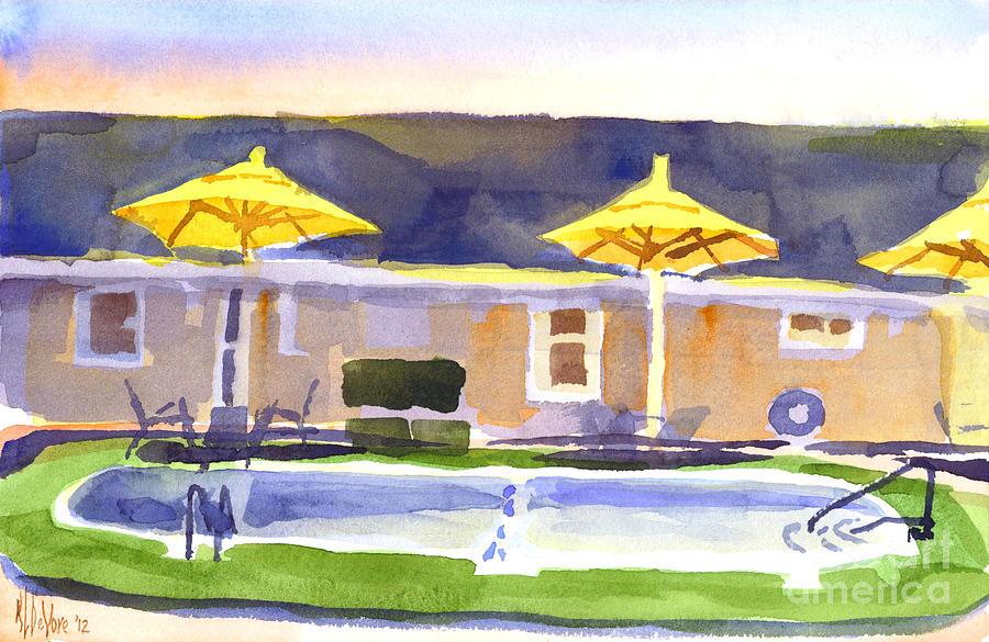 Watercolor Painting - Three Amigos IIi by Kip DeVore