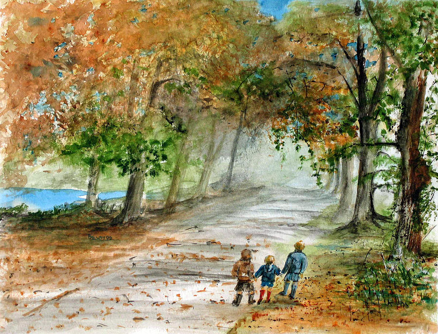 Autumn Painting - Three Brothers by Rob Beilby