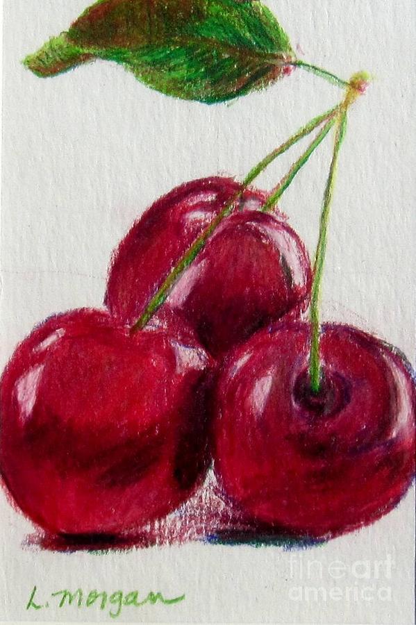 Three Cherries Drawing
