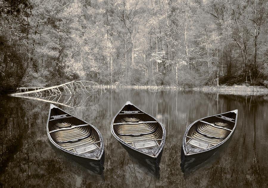 Appalachia Photograph - Three by Debra and Dave Vanderlaan