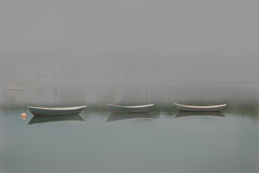 Landscape Digital Art - Three Dorries by Clifford Pugliese