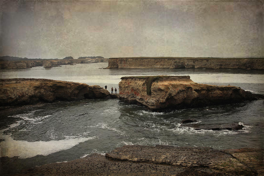 Stornetta Public Lands Photograph - Three Fishermen by Laurie Search