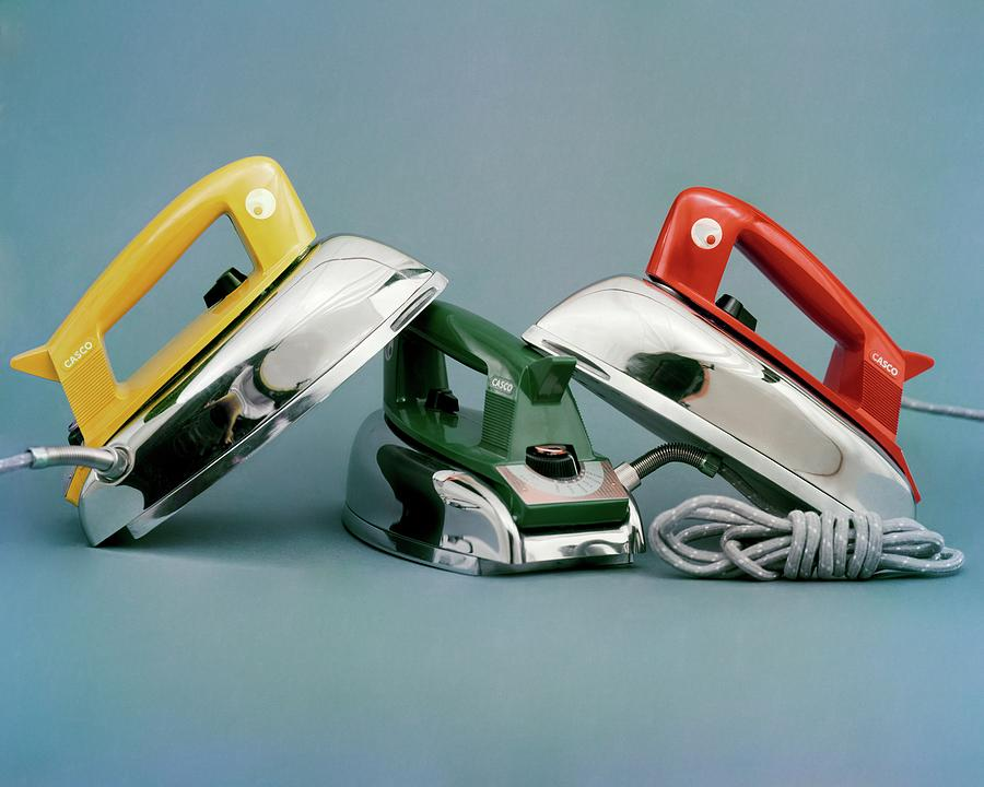 Three Irons By Casco Products Photograph by Richard Rutledge
