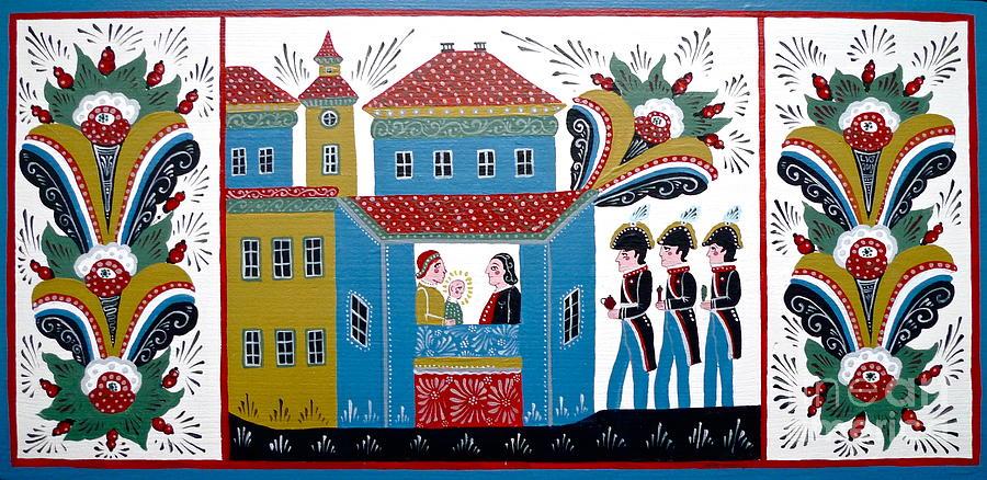 Three Kings Painting - Three Kings by Leif Sodergren