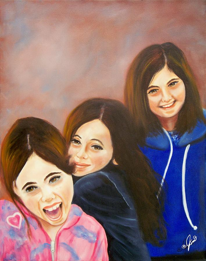 Three Little Ladies by Joni McPherson
