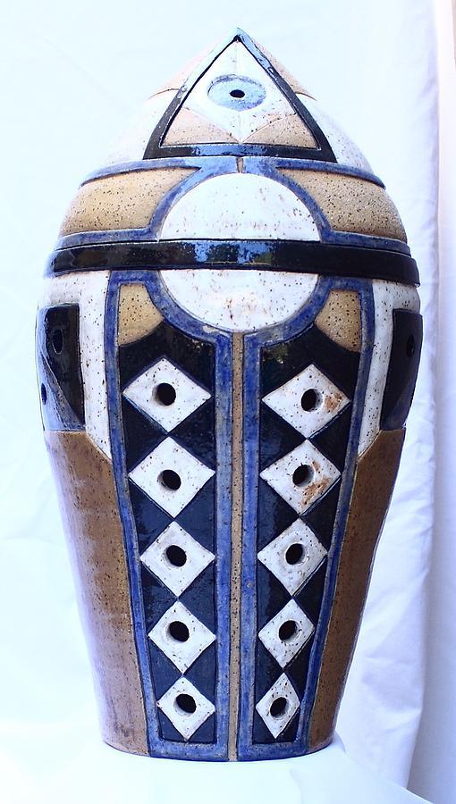 Clay Ceramic Art - Three Seers 1 by Jason Galles