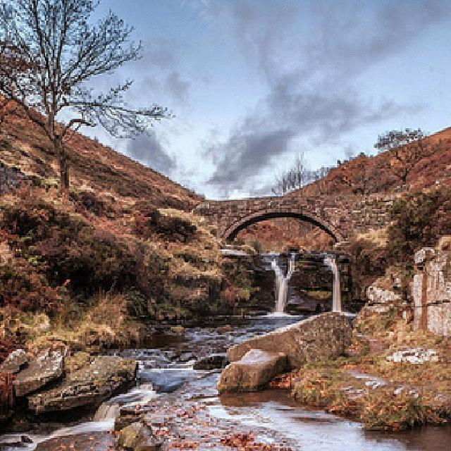 Beautiful Photograph - Three Shire Head Waterfall, Peak by Jenna Goodwin
