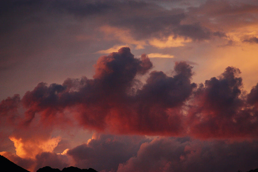 Three Sister Clouds by Dennis Galloway