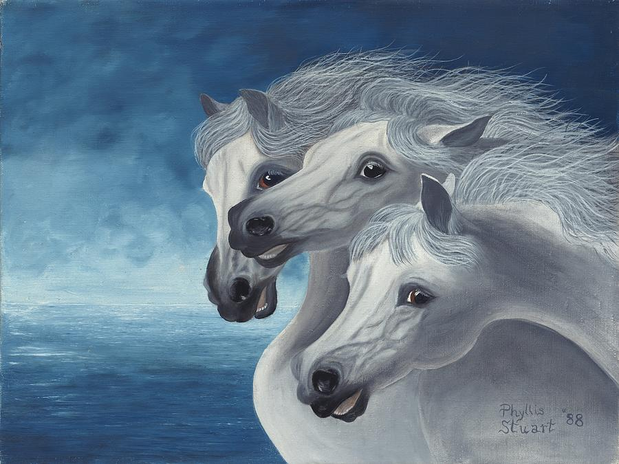 Horse Painting On Canvas For Sale