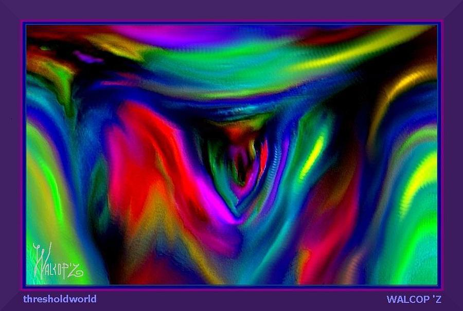 Thresholdworld Digital Art by Walcopz Valencia
