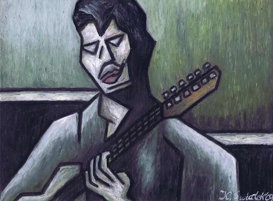 Blues Painting - Thrill Is Gone by Kamil Swiatek
