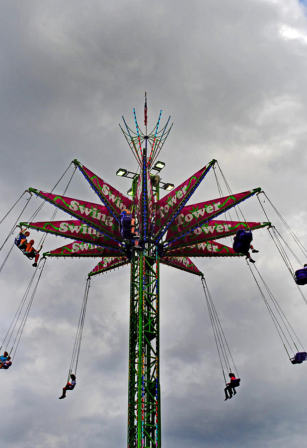 Fair Photograph - Thrill Tower by Skip Willits