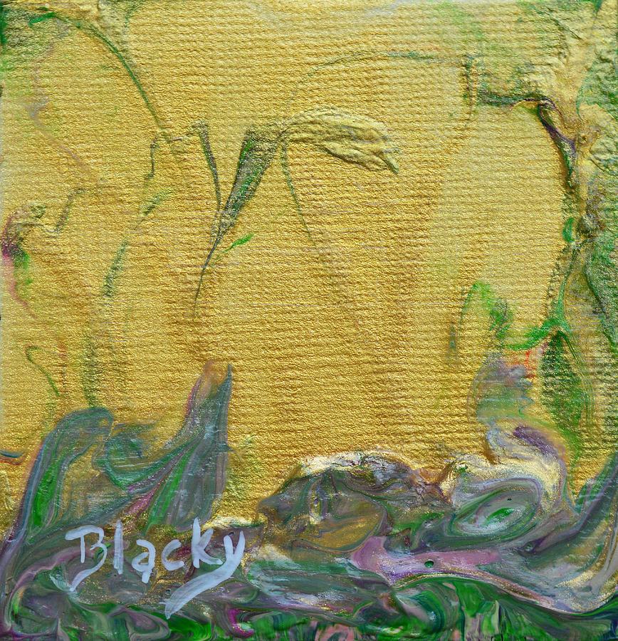 Sunlight Painting - Through A Sunlit Veil by Donna Blackhall
