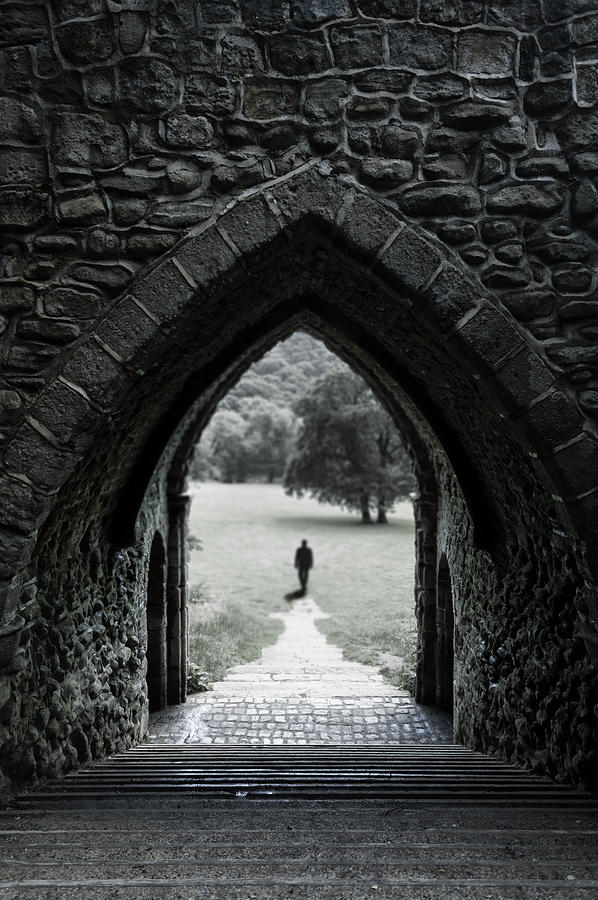 Castle Photograph - Through The Arch by Svetlana Sewell