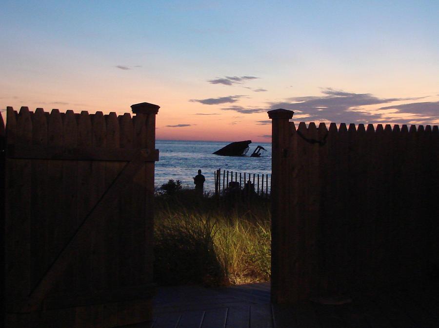 View Photograph - Through The Gate by Brenda Conrad