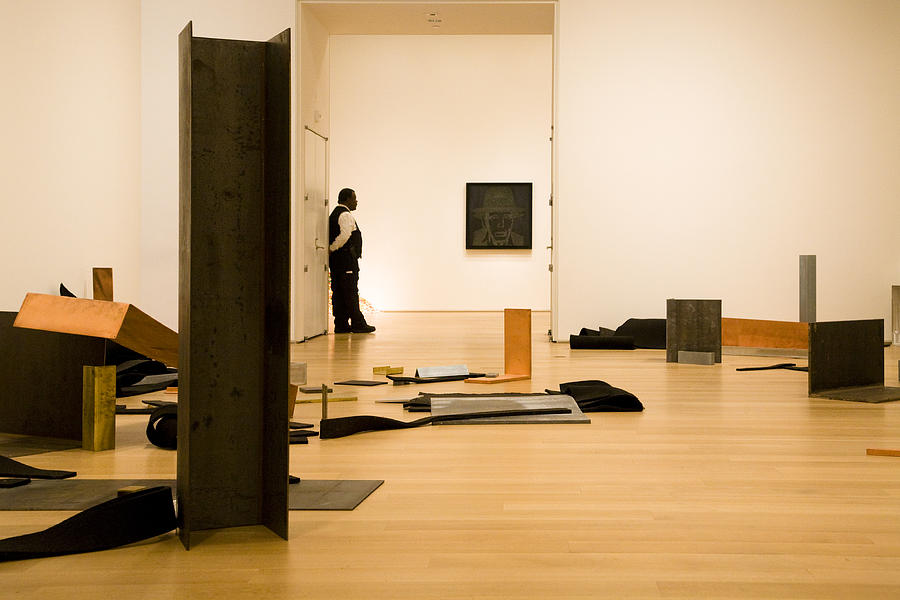 Installation Photograph - Through The Open Door by Joanna Madloch