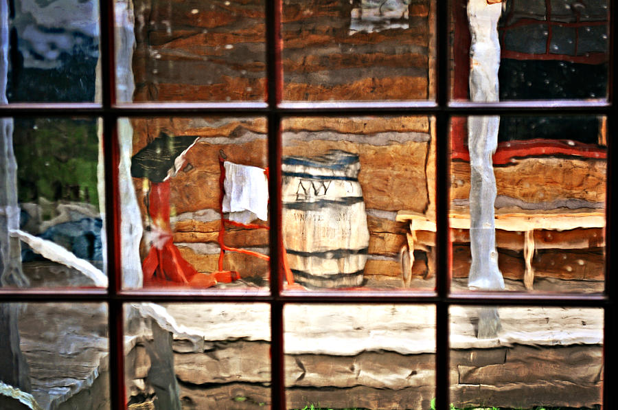 Still Life Photograph - Through The Window by Marty Koch