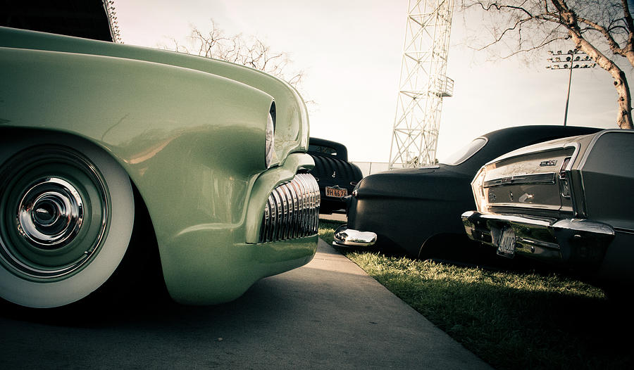 Hot Rods Photograph - Through The Years by Merrick Imagery