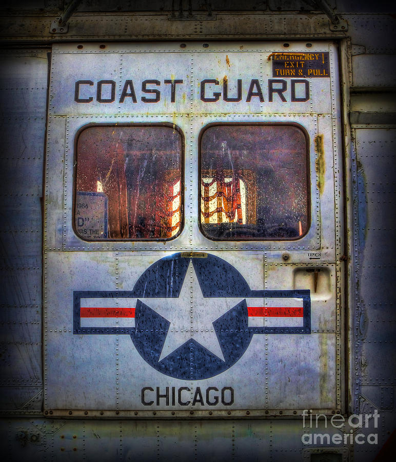 Chicago Coast Guard Photograph - Through These Doors Dive Heroes  by Lee Dos Santos