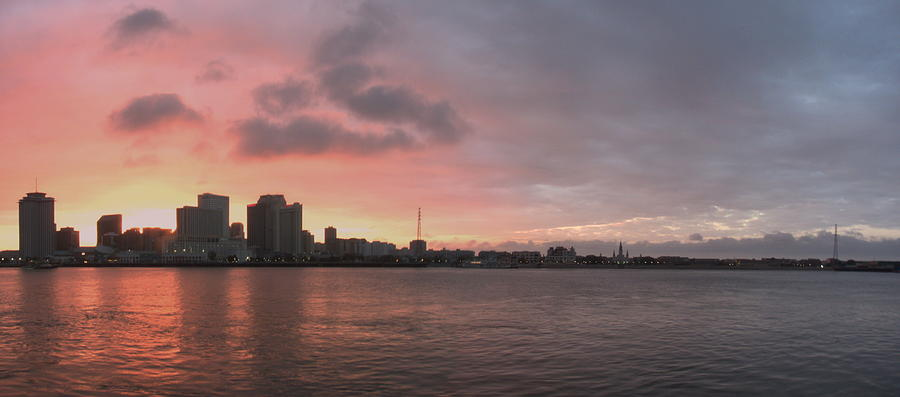 Sunset Photograph - Ths City Sunset by Anthony Walker Sr