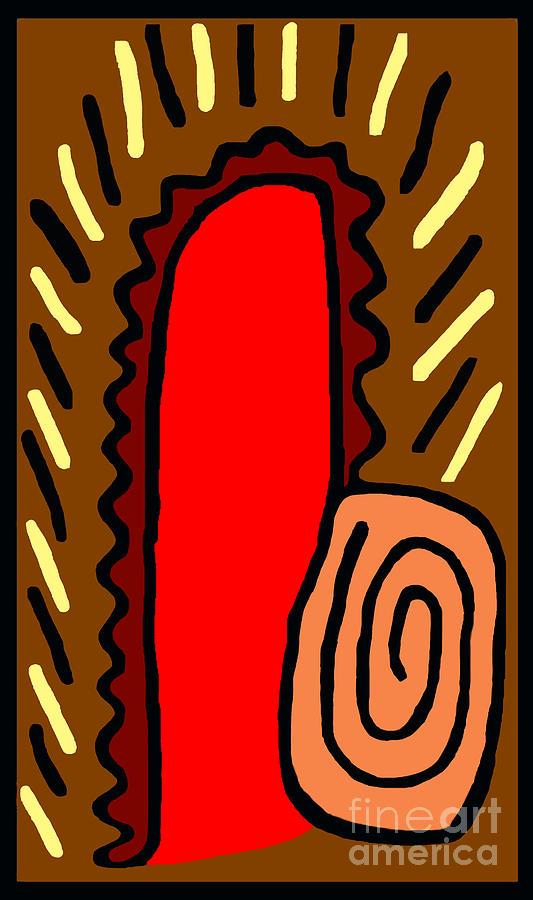 Thumbit Digital Art by Meenal C
