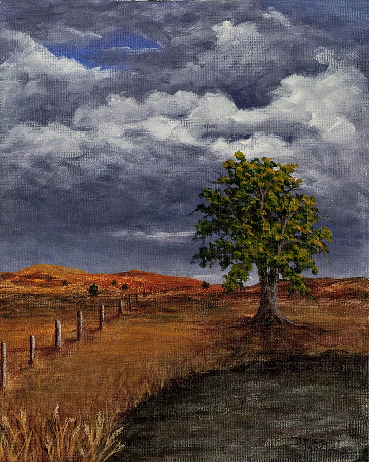 California Painting - Thunder Clouds by Darice Machel McGuire