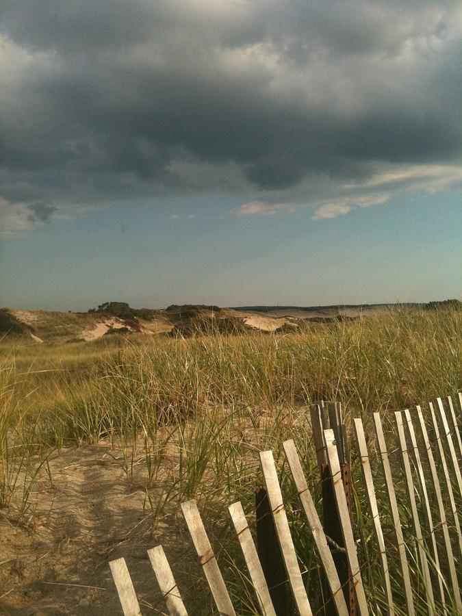 Storm Clouds Photograph - Thunder Dunes by Tricia Nilsson