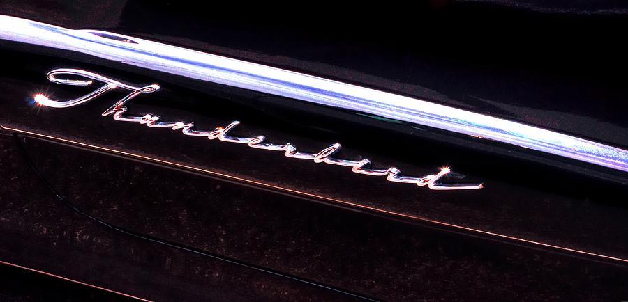Car Photograph - Thunderbird 14757 by Jerry Sodorff