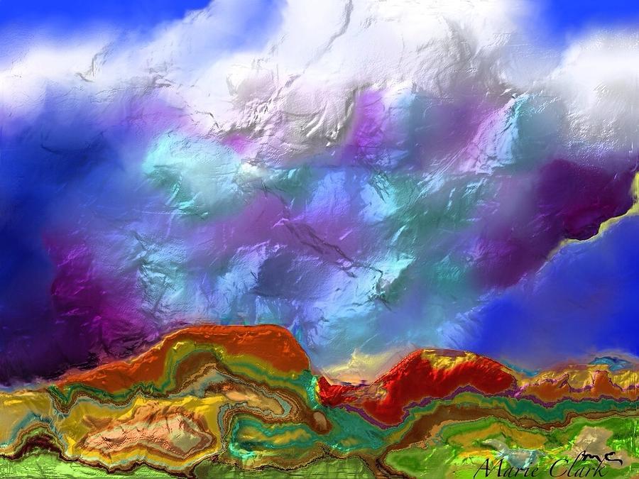 Thunderhead 4 Painting