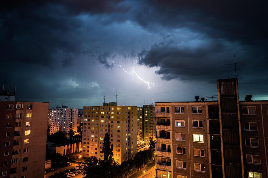 Thunderstorm Photograph by Hugo