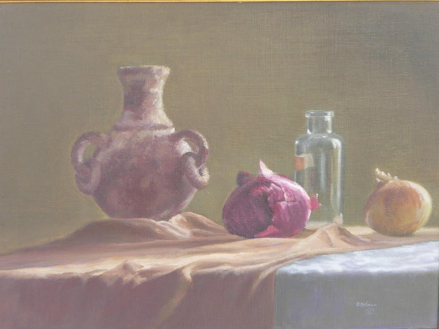 Still-life Painting - Thursday Afternoon by Dave Holman