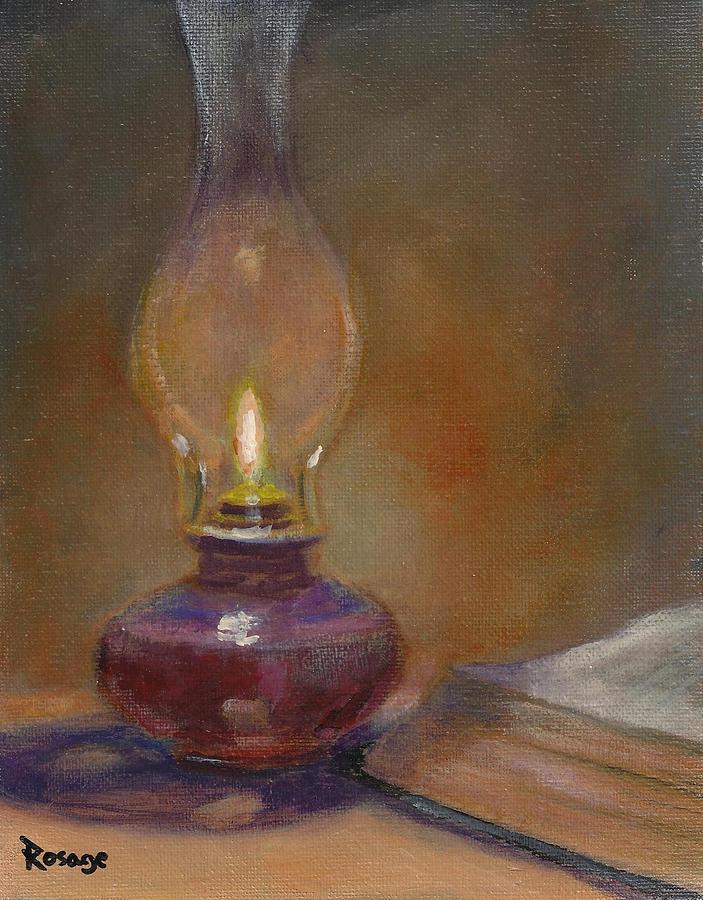 Still Life Painting - Thy Word by Bernie Rosage Jr