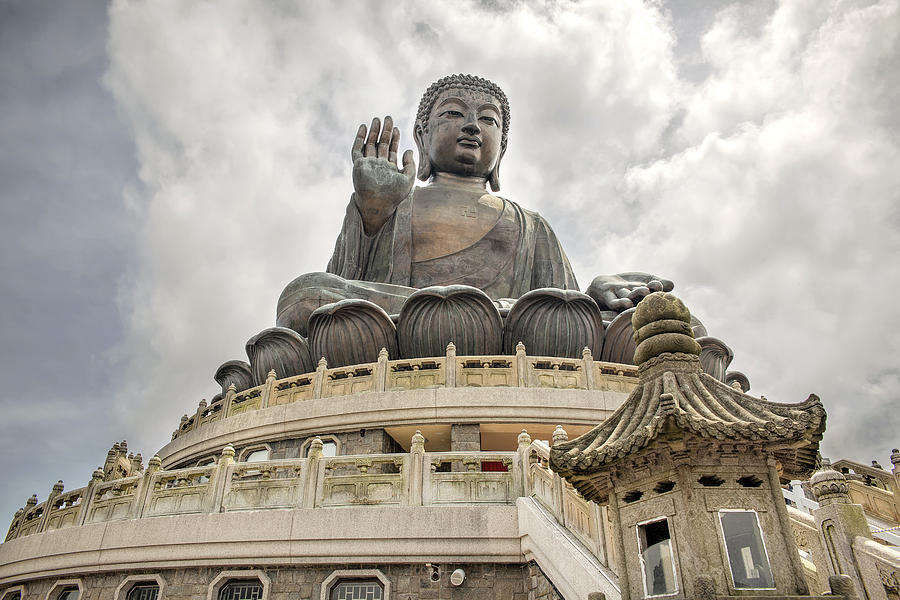 Hong Kong Photograph - Tian Tan Buddha by David Gn