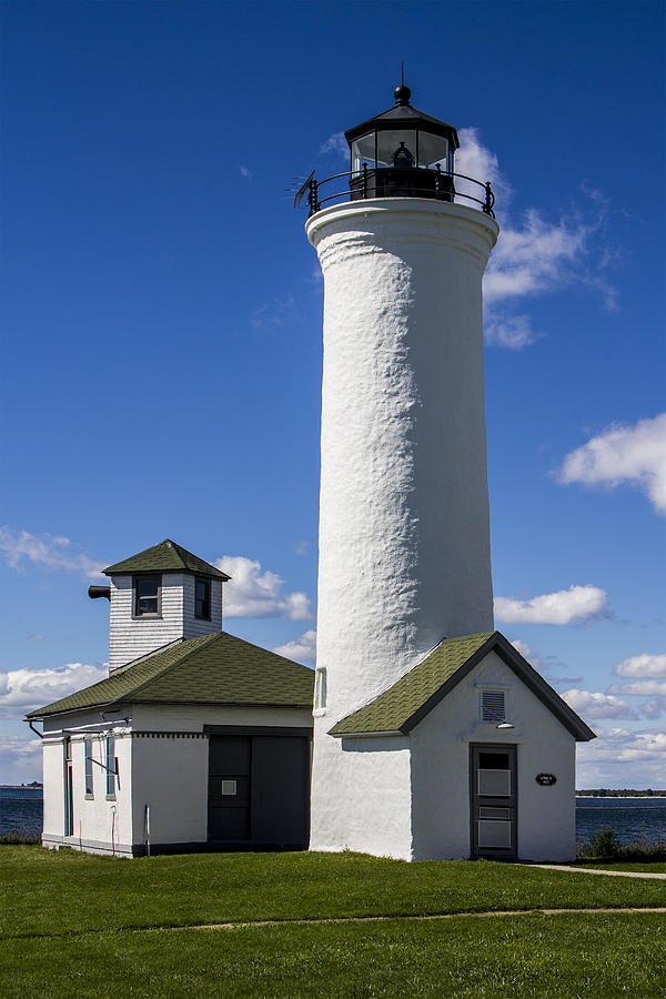 Historic Photograph - Tibbetts Point Lighthouse by Ben and Raisa Gertsberg