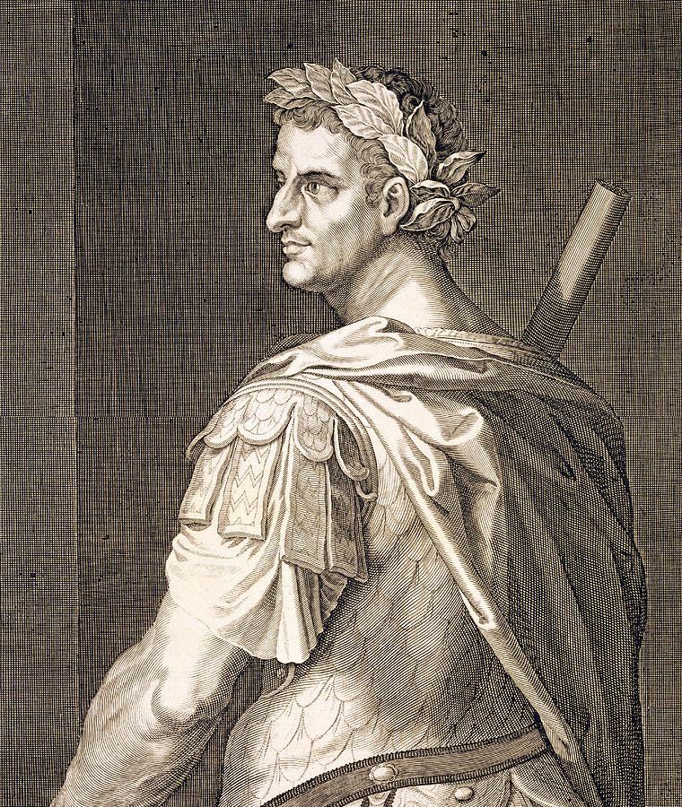 Titian Painting - Tiberius Caesar by Titian