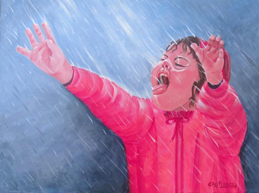 Tickles Painting - Tickles From God by Carol Allen Anfinsen