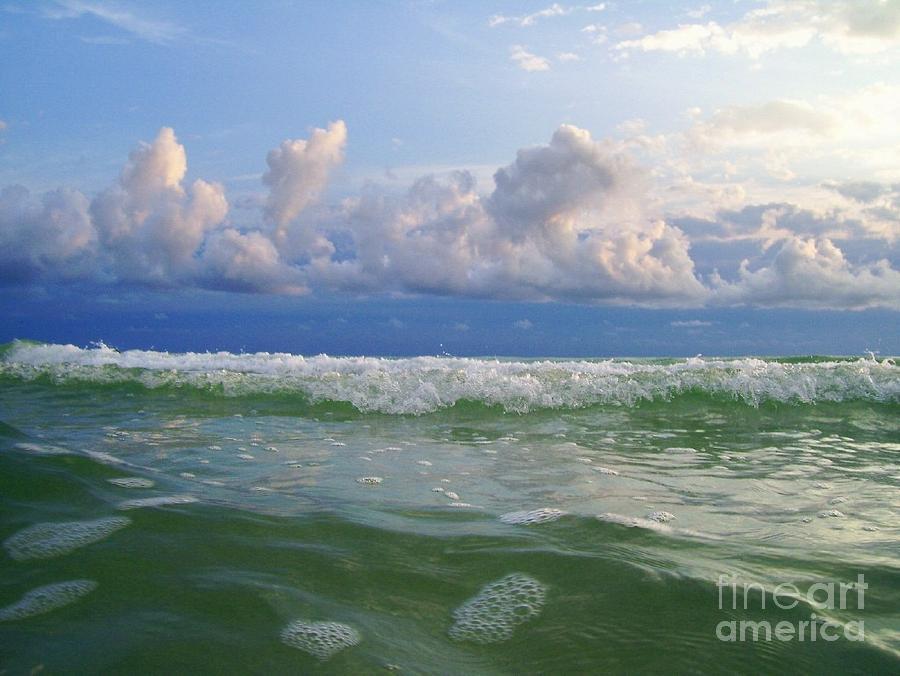 Tidal Wave Photograph - Tidal Wave by Carolyn Bistline