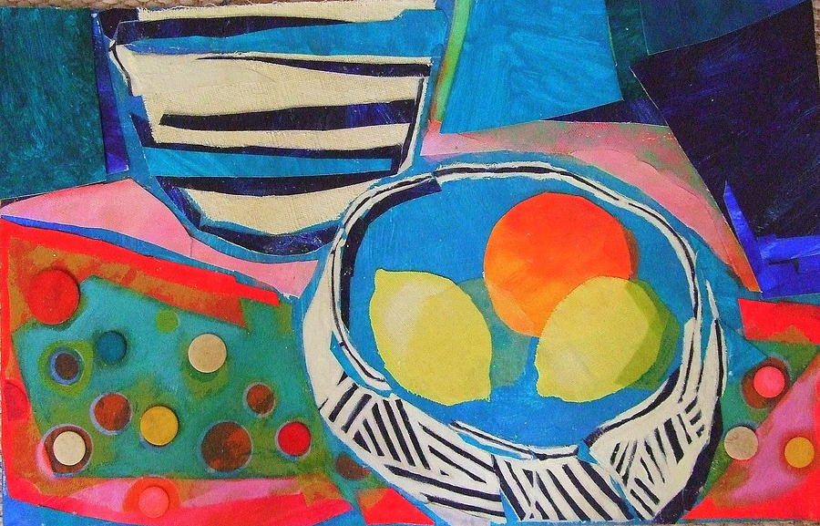 Acrylic Painting Mixed Media - Tiddly Winks by Diane Fine