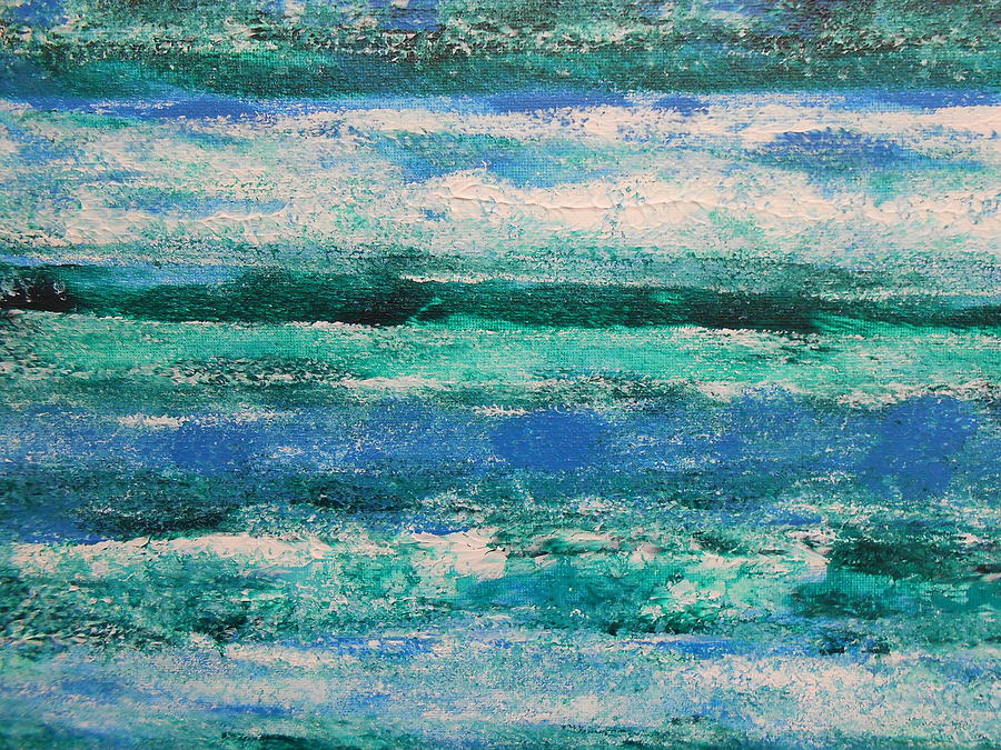 Abstract Paintings Painting - Tide by Lisa Williams