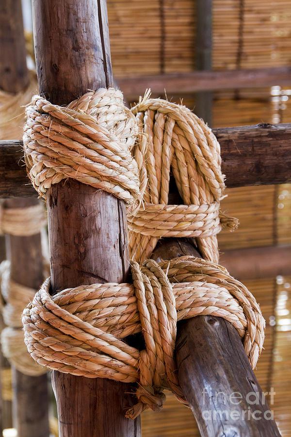 Japan Photograph - Tie rope by Tad Kanazaki