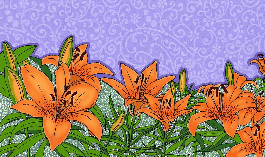 Tiger Lilies by David Burkart