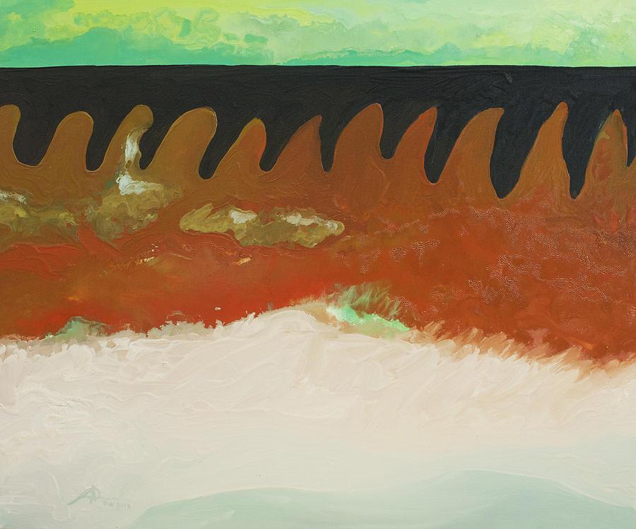 Horizon Painting - Tigers Hide by Joseph Demaree