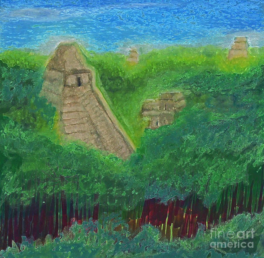 Jrr Painting - Tikal 2 By Jrr by First Star Art