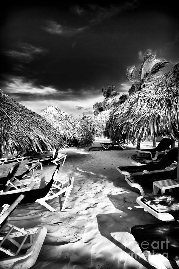 Sand Photograph - Tiki Zone by John Rizzuto