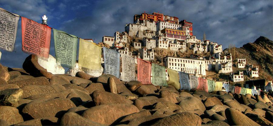Tikse Monastery Photograph by Photo ©tan Yilmaz