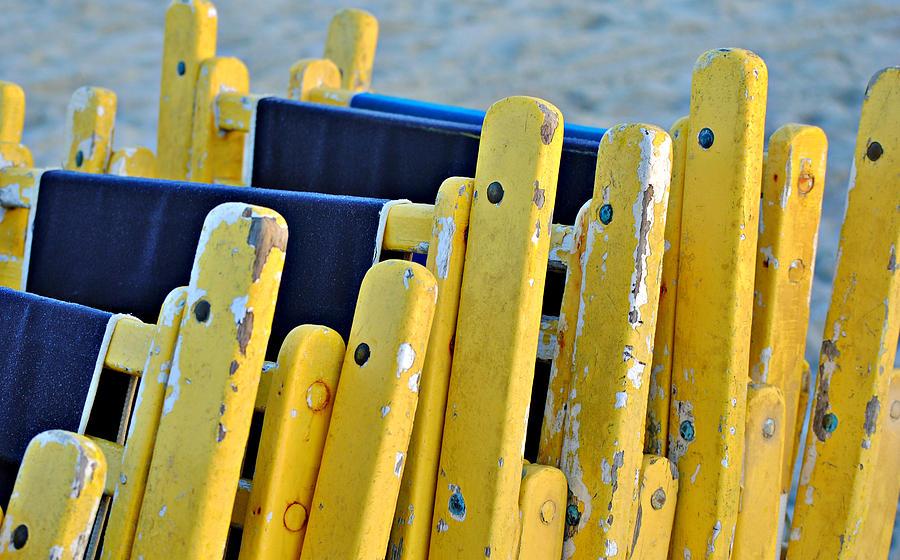 Beach Chair Photograph - Til Tomorrow by Kelly Nowak