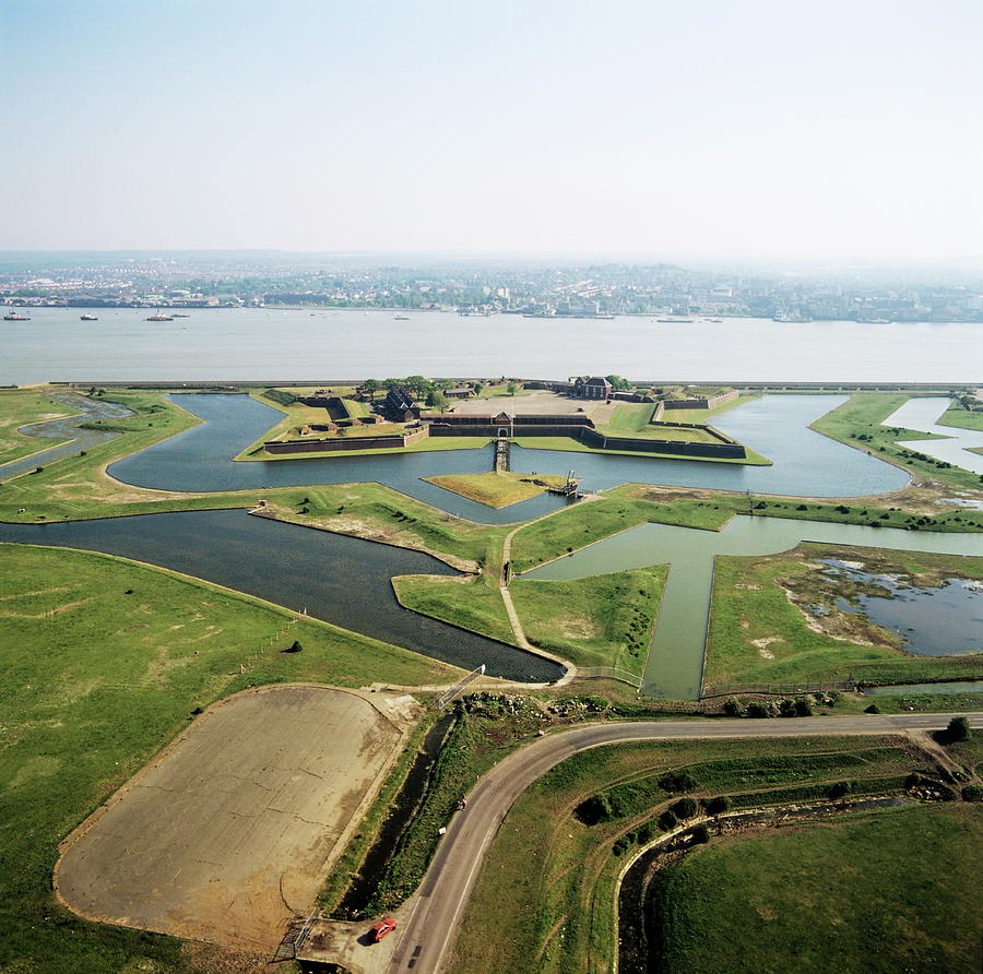 Moat Photograph - Tilbury Fort by Skyscan/science Photo Library