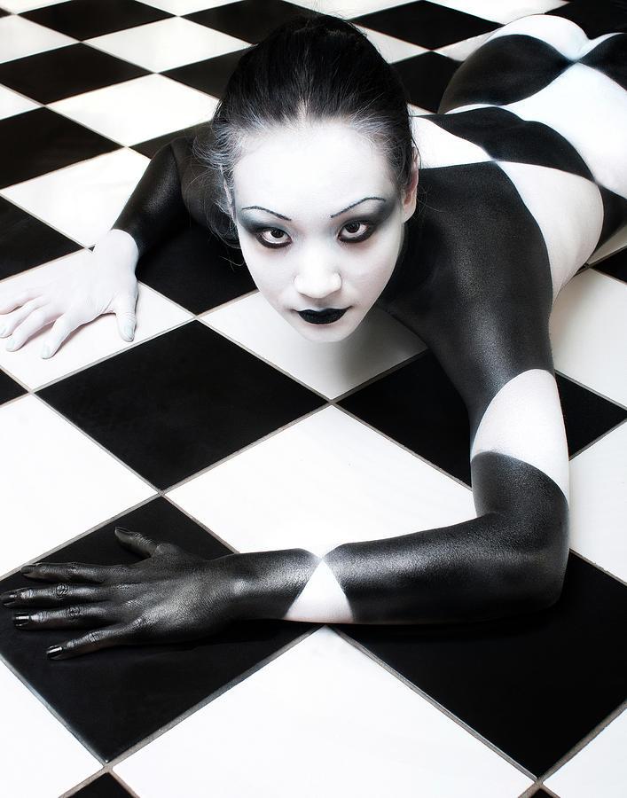 Nude Photograph - Tile Tales 3 by Derek Galon, Ma,