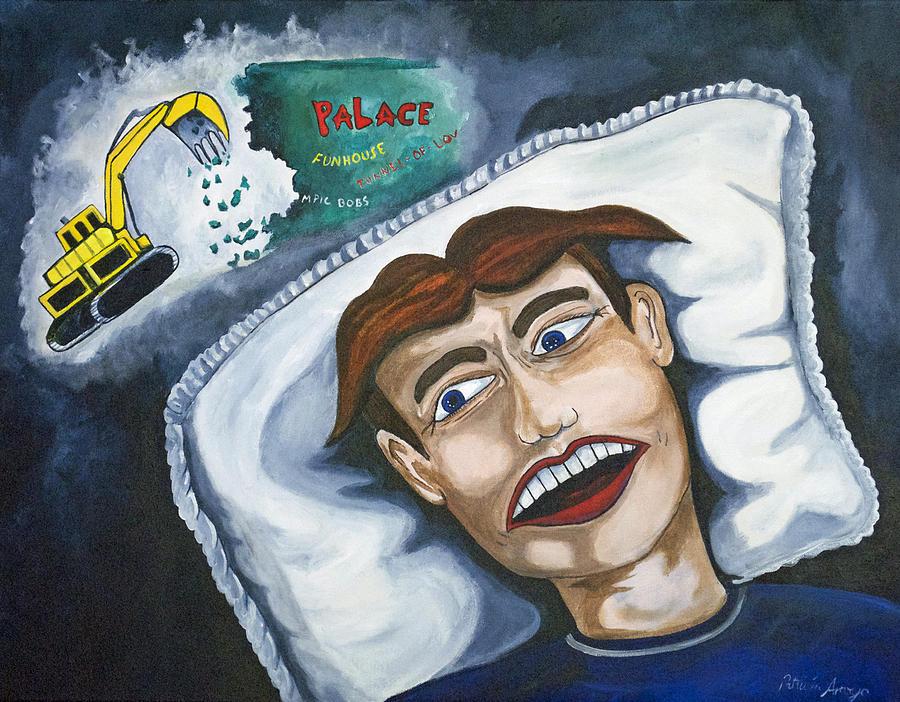 Asbury Park Painting - Tillies Nightmare by Patricia Arroyo